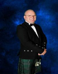 Scottish Magician wearing his Kilt